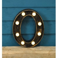 Letter O - Battery Operated Lumieres Light by Smart Garden