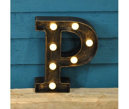Letter P - Battery Operated Lumieres Light by Smart Garden