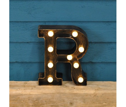 Letter R - Battery Operated Lumieres Light by Smart Garden