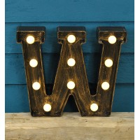 Letter W - Battery Operated Lumieres Light by Smart Garden