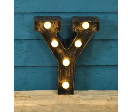 Letter Y - Battery Operated Lumieres Light by Smart Garden