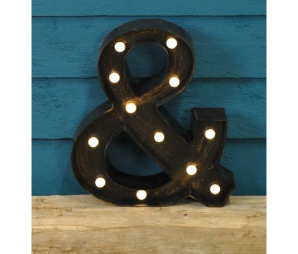 Ampersand Symbol - Battery Operated Lumieres Light by Smart Garden