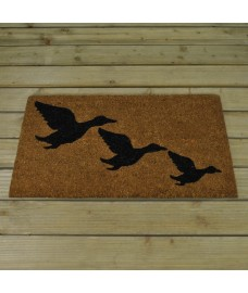 Flying Geese Design Coir Doormat by Smart Solar