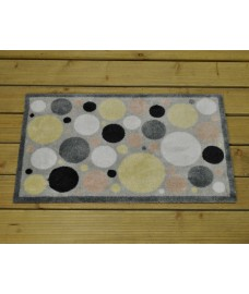 Spotty Dotty Ritzy PVC Backed Doormat by Smart Solar