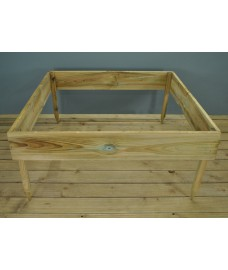 Wooden Raised Garden Bed by Grange