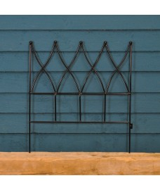 Steel Magnolia Lawn Edging Panel (45cm x 41cm) by Gardman