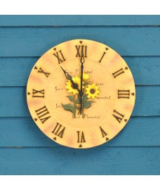 Sunflower Wall Clock by Gardman