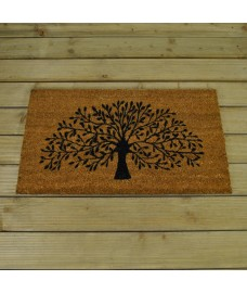 Sherwood Tree Design Coir Doormat by Gardman