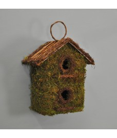 Two Storey Bush Wooden Nest Box by Kingfisher