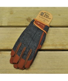 Large/Extra Large Tweed Dig The Glove Gardening Gloves by Burgon & Ball