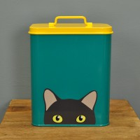 Doris The Cat Food Tin Storage Container by Burgon & Ball
