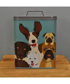 The Rabble Dog Food Tin Storage Container by Burgon & Ball