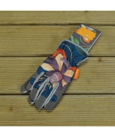 One Size Fits (Almost) All Passiflora Gardening Gloves by Burgon & Ball