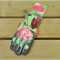 One Size Fits (Almost) All Rosa Chinensis Gardening Gloves by Burgon & Ball