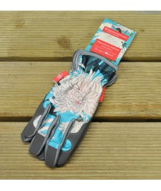 One Size Fits (Almost) All Chrsyanthemum Gardening Gloves by Burgon & Ball