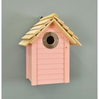 New England Nest Box in Pink by Wildlife World