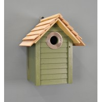 New England Nest Box in Green