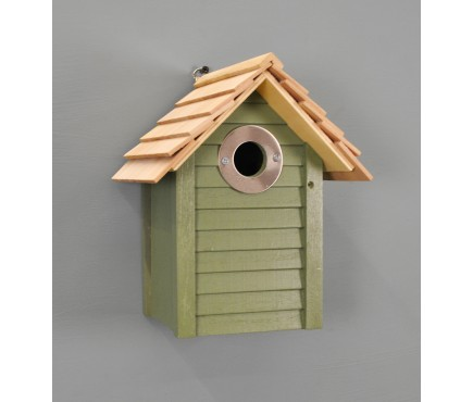New England Nest Box in Green by Wildlife World