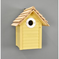 New England Nest Box in Yellow by Wildlife World