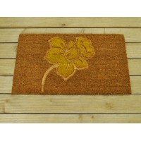 Pressed Daffodil Design Coir Doormat by Gardman