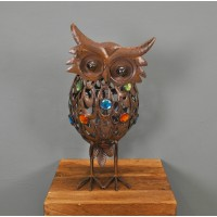 Decorative Large Owl Garden Light (Solar) by Gardman