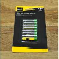 8 x AAA Rechargeable Ni-MH Batteries by Gardman
