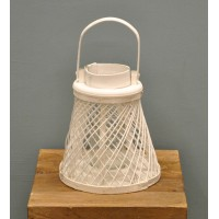 Hampton Candle Holder Storm Lantern by Rustic Garden