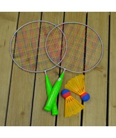 Childrens Badminton Garden Game Set by Premier