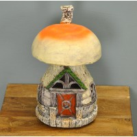 The Home Of Isadora Fernleaf Fairy Dwelling Light (Solar) by Garden Glows