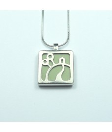 In the Garden Pendant Necklace