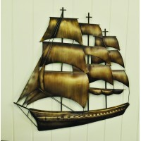 Sailing Boat Metal Wall Art by Premier