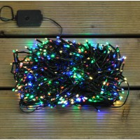 720 LED Multi Colour Cluster Supabright String Lights (Mains) by Premier