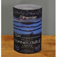 15m Extension Cable Lead for String Lights by Premier