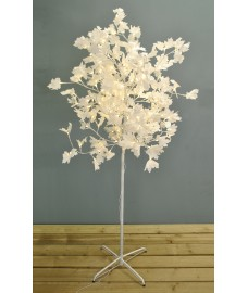 180cm White Maple 200 LED Light Tree (Mains) by Premier