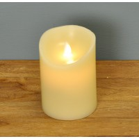 Battery Operated LED Dancing Flame Candle 13cm by Premier