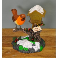 Singing Rocking Robin Animated Musical Decoration by Premier