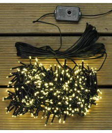 500 LED Warm White Multi-Action Treebrights Christmas Tree String Lights (Mains) by Premier