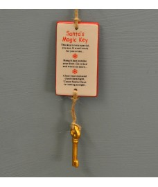 Santa's Magic Key Christmas Decoration by Premier