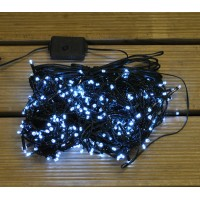 380 LED White Supabright String Lights (Mains) by Premier