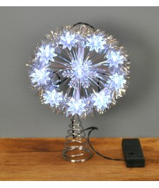 LED Christmas Tree Topper Light (Warm White) by Premier