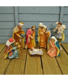 Large Traditional Christmas Nativity Scene by Premier