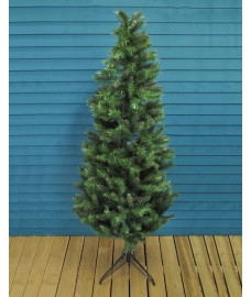 200cm Corner and Half Wall Christmas Tree by Premier