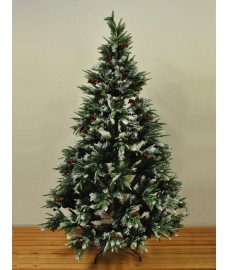 7ft (210cm) Frosted Christmas Xmas Tree by Premier