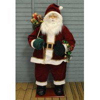 Inflatable Santa with Music & Lights (150cm) by Premier