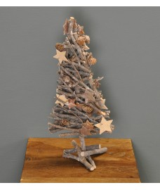 Christmas Wooden Sparkle Tree by Premier