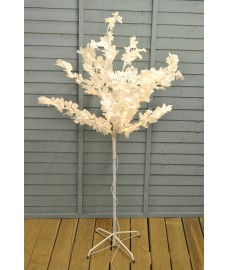 150cm White Maple 150 LED Light Tree (Mains) by Premier