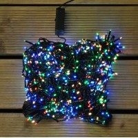 1000 LED Multi Colour Treebright String Lights (2.1m Tree) by Premier
