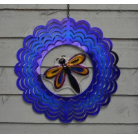 Dragonfly Hanging Garden Spinner by Gardman