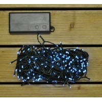 400 LED White (Battery) String Lights by Premier