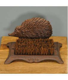 Cast Iron Hedgehog Boot Brush